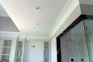 Crown Molding - Bathroom